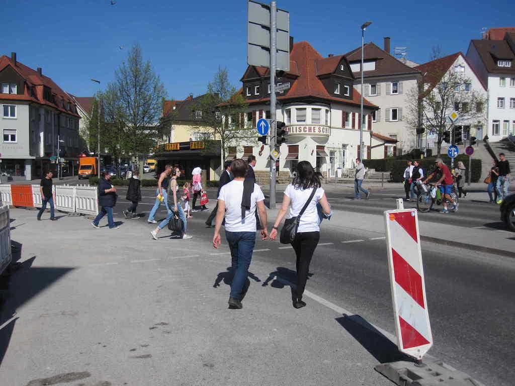 Elbenplatz Umbau April 2015 c