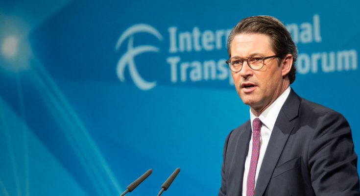 """""""Weltverkehrsforum 2019 mit BM Scheuer und PSts Bilger"""" by BMVI.de is licensed with CC BY-ND 2.0. To view a copy of this license, visit https://creativecommons.org/licenses/by-nd/2.0/"""